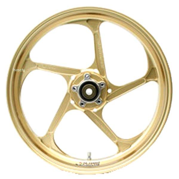 ゲイルスピード GALE SPEED フロントホイール TYPE-GP1S 350-17 10年-15年 BMW S1000RR、1000R ゴールド ガラスコート 28895023Q JP店