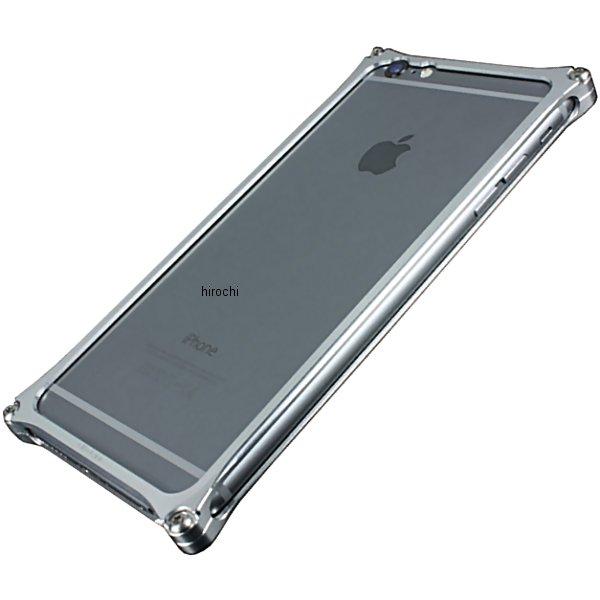 41113 ギルドデザイン ソリッドバンパー iPhone6Plus シルバー GI-252S JP店