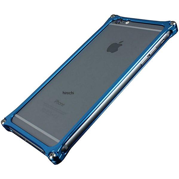 41119 ギルドデザイン ソリッドバンパー iPhone6Plus ブルー GI-252BL JP店