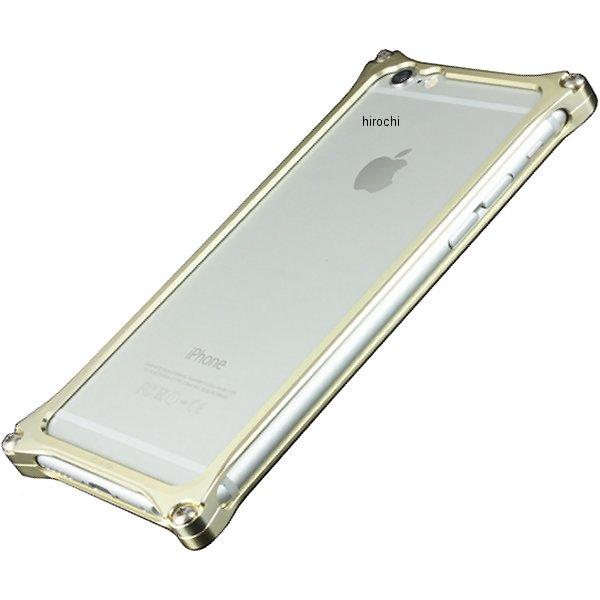 41400 ギルドデザイン ソリッドバンパー for iPhone6/6S シャンパンゴールド GI-242CG JP店