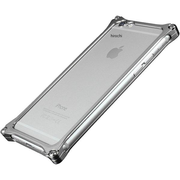 41406 ギルドデザイン ソリッドバンパー for iPhone6/6S グレー GI-242GR JP店