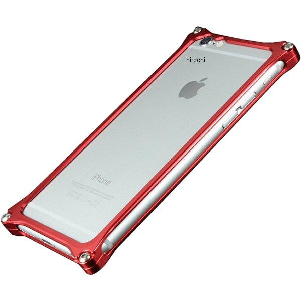 41403 ギルドデザイン ソリッドバンパー for iPhone6/6S レッド GI-242R JP店
