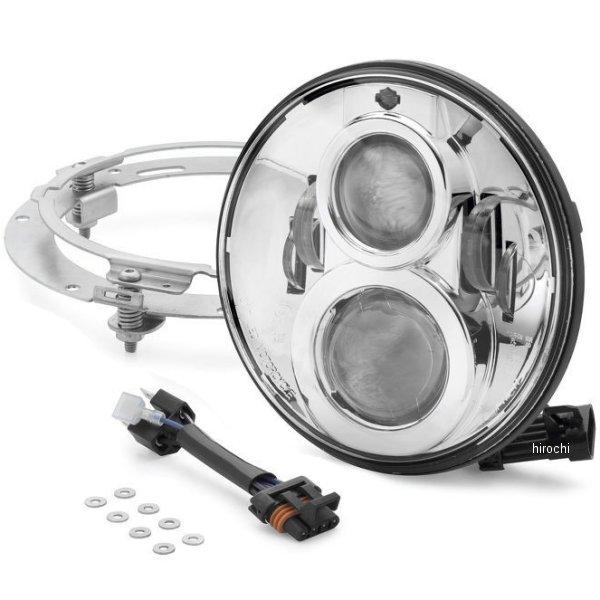 【USA在庫あり】 ハーレー純正 7インチ LEDヘッドライト プロジェクター クローム 67700264 JP店