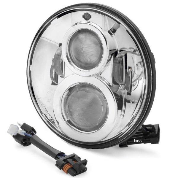 【USA在庫あり】 ハーレー純正 7インチ LEDヘッドライト プロジェクター クローム 67700265 JP店