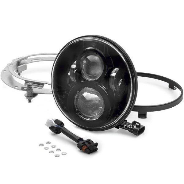【USA在庫あり】 ハーレー純正 7インチ LEDヘッドライト プロジェクター 黒 67700266 JP店