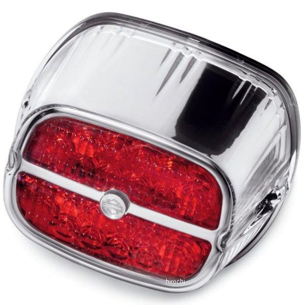 【USA在庫あり】 ハーレー純正 LEDテールライト 赤レンズ/クローム 68116-08 JP店