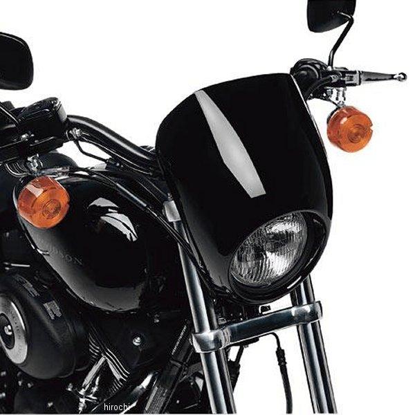 【USA在庫あり】 ハーレー純正 ヘッドライトバイザーキット プライム(無塗装) 68971-98B JP店