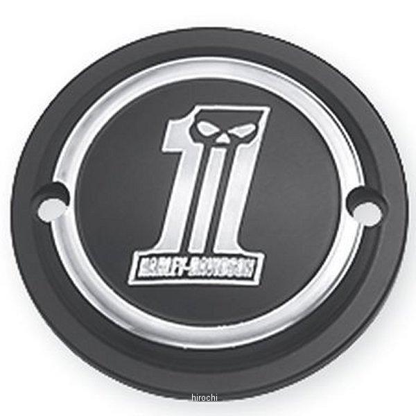 【USA在庫あり】 ハーレー純正 タイマーカバー ダークカスタムロゴ 04年以降 XL 32415-09 JP店