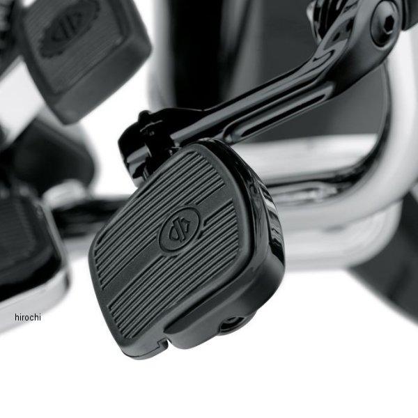 【USA在庫あり】 ハーレー純正 ミニフットボードキット ラージ 4インチ(102mm)グロスブラック 50500124 JP店