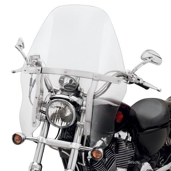 【USA在庫あり】 ハーレー純正 クイックリリース・ツーリング・ウインドシールド 88年以降 XL FXD ライトスモーク/ブラック・ブレース 58158-08 JP店