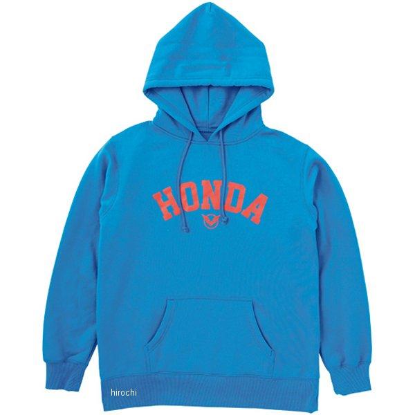ホンダ純正 2017年秋冬モデル Honda×YOSHIDA ROBERTO 「Honda」プルオーバーパーカー 青 Lサイズ 0SYTK-X5K-B JP