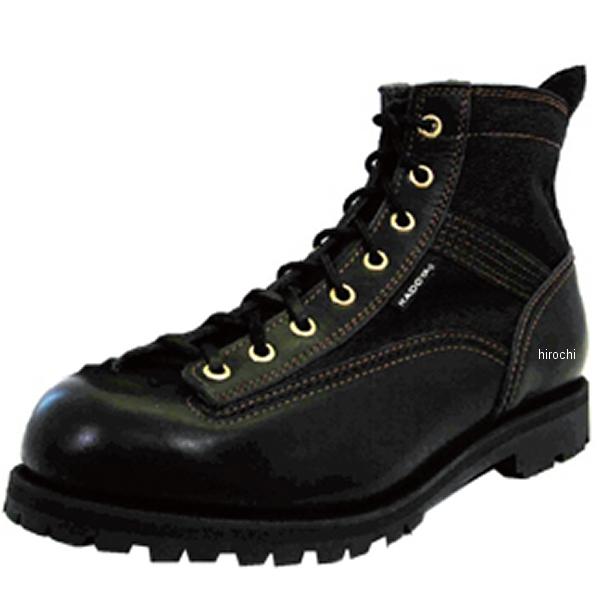 4326 カドヤ KADOYA ブーツ LOGGER LIGHT 黒/黒 25cm 4326-BK/BK-25 JP店