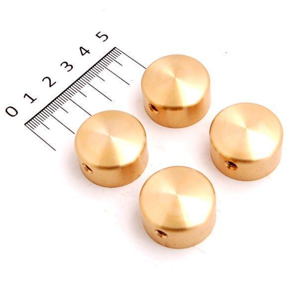 【メーカー在庫あり】 キジマ ビレットヘッドボルトカバー 真鍮 (4個入り) HD-05913 JP店