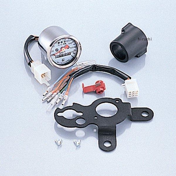 キタコ ミニミニスピードメーターKIT エイプ/190KM(LED) エイプ 752-1122100 JP店