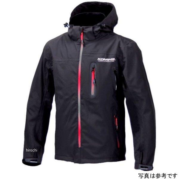 JK-555 コミネ KOMINE WP プロテクション 3レイヤー パーカー レディース 黒/グラデーション赤 WSサイズ 4582166586766 JP店