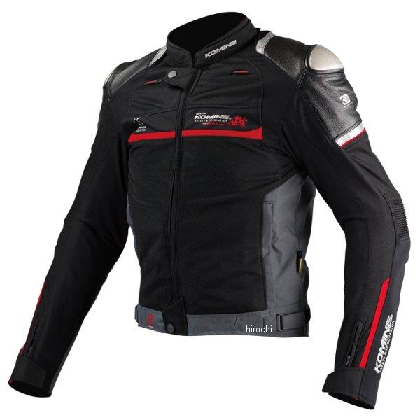 JJ-001 コミネ KOMINE 春夏モデル チタニウムメッシュジャケット 黒 2XLサイズ 4573325731752 JP店