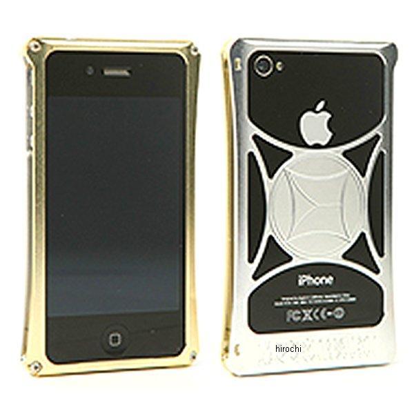 モリワキ iPhone4s、4用 ケース ゴールド/クリア 710-A01-0034 JP店