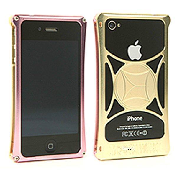 モリワキ iPhone4s、4用 ケース ピンク/ゴールド 710-A01-0053 JP店
