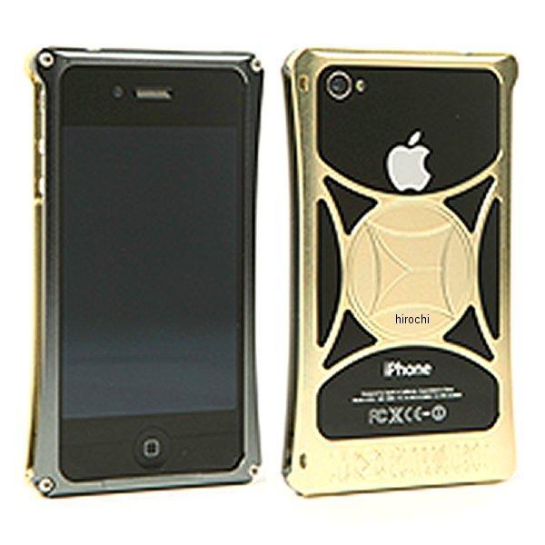 モリワキ iPhone4s、4用 ケース ガンメタル/ゴールド 710-A01-0073 JP店