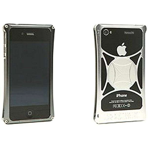モリワキ iPhone4s、4用 ケース ガンメタル/クリア 710-A01-0074 JP店