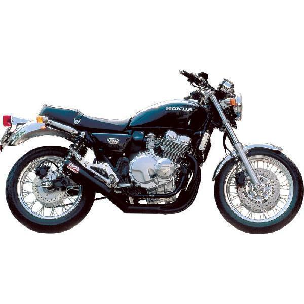 【メーカー在庫あり】 モリワキ ONE-PIECE BLACKフルエキゾースト 97年以降 CB400FOUR スチール A100-157-2411 JP店