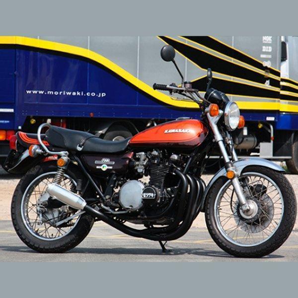 モリワキ MONSTER BLACK RACING フルエキゾースト Z系 スチール A410-201-2051 JP店