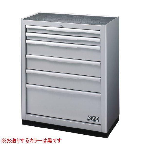KTC 京都機械工具 【直送】 ベースキャビネット(6段6引出) ブラック EKW-2006BK-KC JP店