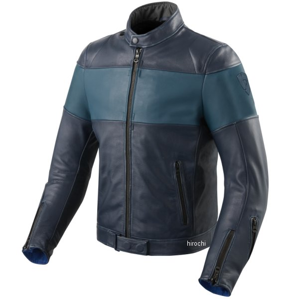 レブイット REVIT レザージャケット ノヴァビンテージ 青 M48サイズ FJL092-2230-M48 JP店