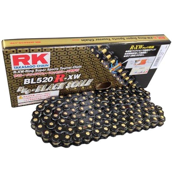 【メーカー在庫あり】 RKジャパン BL520R-XW-110BLブラックスケールシリーズチェーン (110L) BL520RXW110 JP店