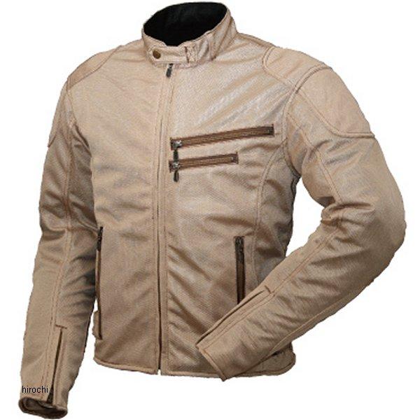 ラフ&ロード ライディングZIPメッシュジャケット ベージュ XLサイズ RR7313BE5 JP店