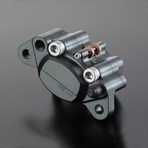 シフトアップ ビレット キャリパー 160mm ディスク スモークチタン モンキー 200050-21 JP店