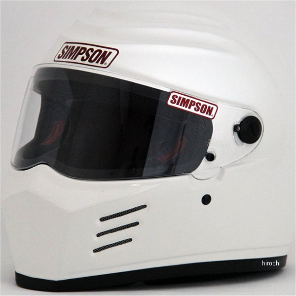 3304105800 シンプソン SIMPSON ヘルメット アウトロー 白 58cm 4562363240692 JP店