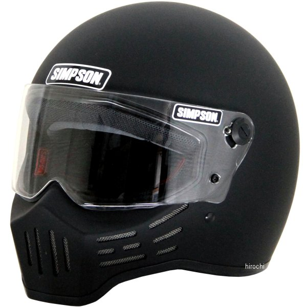 3305125800 シンプソン SIMPSON ヘルメット M30 黒(つや消し) 58cm 7-1/4 4562363241330 JP店