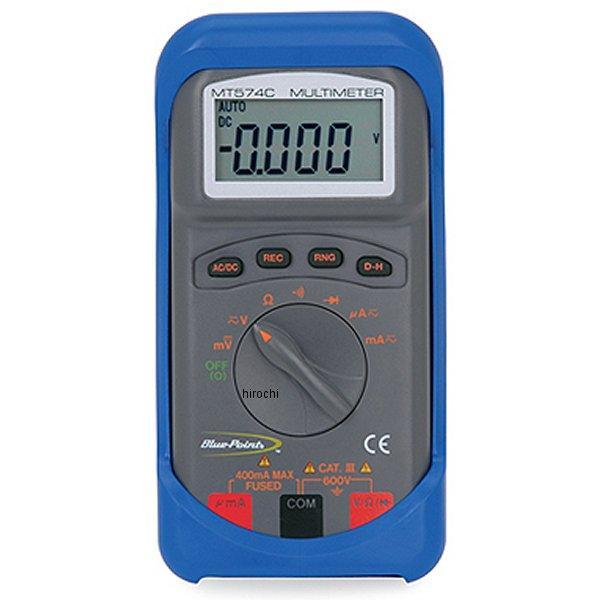 スナップオン Snap-on ブルーポイント オートレンジング コンパクト デジタル マルチメーター MT574C JP店
