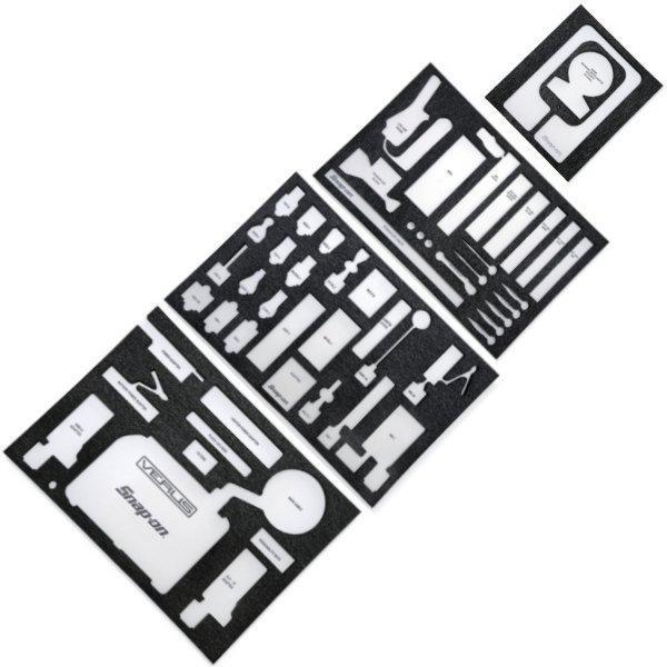 スナップオン Snap-on KRSC30ロールカートのVERUS 引出し用フォームオーガナイザー セット VERUSFOAM3 JP店