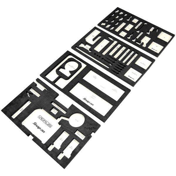 スナップオン Snap-on KRSC40/KRSC40AロールカートのVERUS 引出し用フォームオーガナイザー セット VERUSFOAM4 JP店