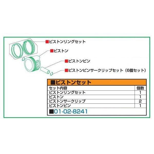 SP武川 スーパーヘッド+R用シリンダーキット パーツ ピストンセット 01-02-8080 JP店