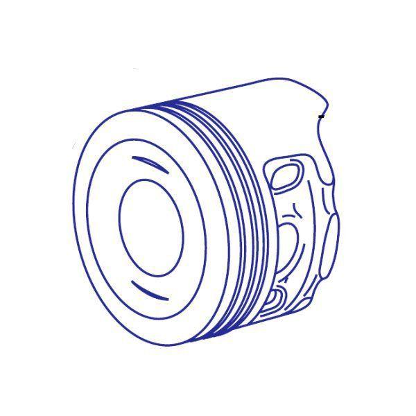 SP武川 旧タイプ Sステージ 111.2cc リペアパーツ ピストン φ52 CD90 スーパーカブ90 スーパーカブ100EX 13104-GPH-T00 JP店