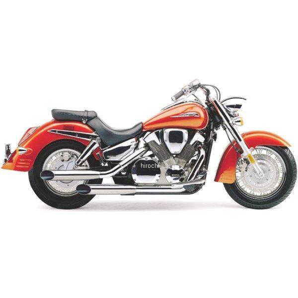 【USA在庫あり】 コブラ COBRA スリップオンマフラー スラッシュカット 03年-09年 VTX1300 081228 JP