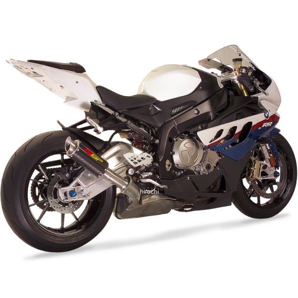 【USA在庫あり】 ホットボディーズ Hotbodies Racing スリップオンマフラー MGP BMW 10年-14年 S1000RR ステン/カーボン/ステン 208070 JP