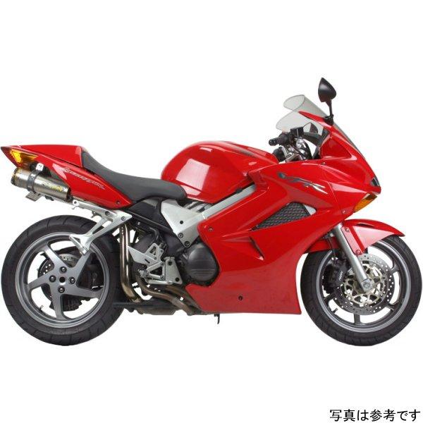【USA在庫あり】 ツーブラザーズレーシング スリップオンマフラー ブラックシリーズ M-2 デュアル 02年-09年 VFR800Fi アルミ 594375 JP