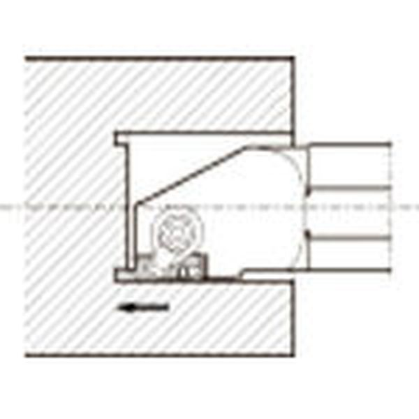 【メーカー在庫あり】 GIFVR3532B201A 京セラ(株) 京セラ 溝入れ用ホルダ GIFVR3532B-201A JP店