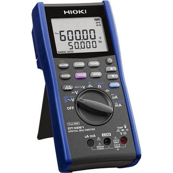【メーカー在庫あり】 日置電機(株) HIOKI デジタルマルチメータ(A端子なし) DT4281 JP