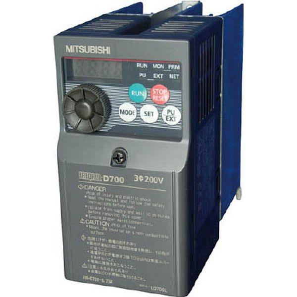 【メーカー在庫あり】 FRD7200.75K 三菱電機(株) 三菱電機 汎用インバータ FREQROL-D700シリーズ FR-D720-0.75K JP