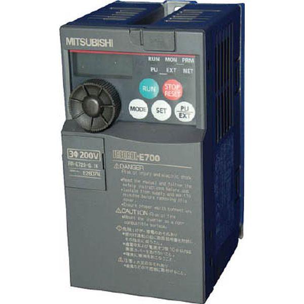【メーカー在庫あり】 FRE7200.1K 三菱電機(株) 三菱電機 汎用インバータ FREQROL-E700シリーズ FR-E720-0.1K JP
