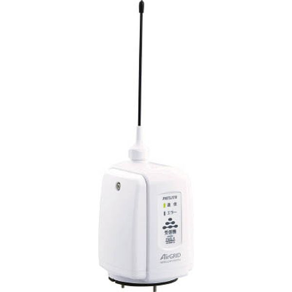【メーカー在庫あり】 (株)パトライト パトライト ワイアレスコントロールユニット高速版受信機タイプ白 PWS-RT-W JP