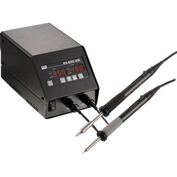 【メーカー在庫あり】 太洋電機産業(株) グット 鉛フリー用2本接続温調はんだこて RX-822AS JP