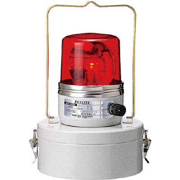 (株)パトライト パトライト 電池式回転灯 レッド SKHB-1006MD-R JP