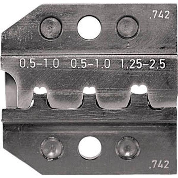 【メーカー在庫あり】 RENNSTEIG社 RENNSTEIG 圧着ダイス 624-742 オープンバレル接続端子 0.5- 624-742-3-0 JP