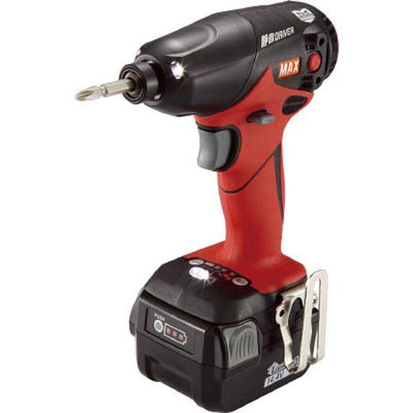 マックス(株) MAX 充電式ブラシレス静音インパクトドライバ PJ-SD101-B2C40A PJ-SD101-B2C40A JP